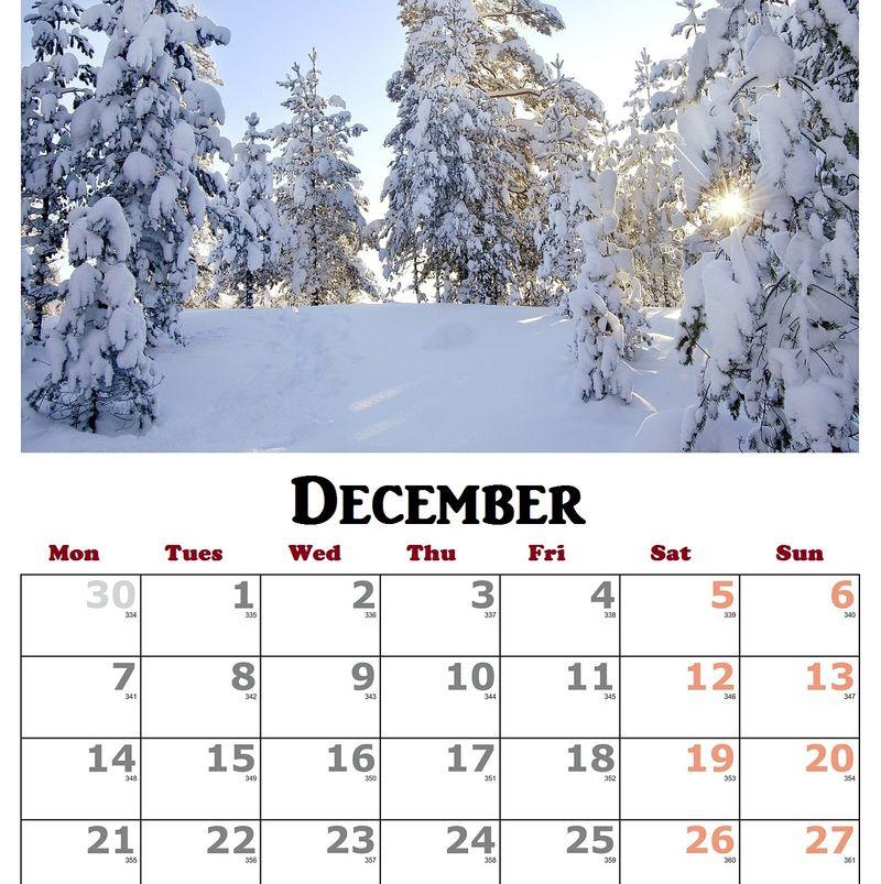 Dec calendar1